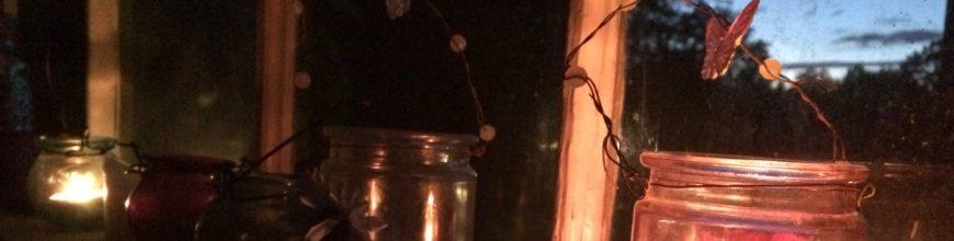 Sommarhäng med doft av fladdermusskit
